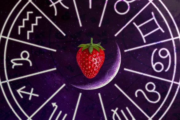 """luna noua gemeni iunie căpsună 585x390 - 13 Iunie 2018-Lună Nouă în Gemeni - Luna """"Căpșună"""". Cum influențează zodiile?"""