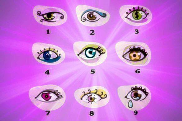 test ochi 1 585x390 - Testul ochilor! Forma ochiului ales spune totul despre personalitatea ta