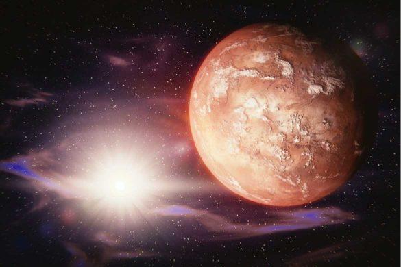 Planeta Marte- cel mai aprope de pamant