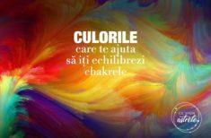 Culorile din garderoba ta care te ajută să îți echilibrezi chakrele
