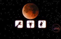 Cele 3 semne zodiacale afectate de Luna sângerie de vineri