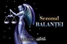 Sezonul Balanței – Schimbări pozitive! Iată ce influență are asupra fiecărei zodii