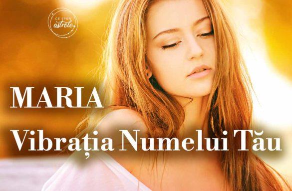 vibratia numelui maria nuemrologie destin 585x383 - Numerologie - Vibrația numelui MARIA