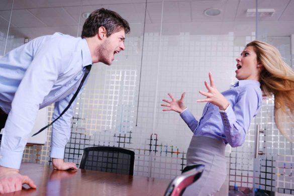 conflicte serviciu colegi 585x390 - Cum  rezolvi cu diplomație conflictele dese de la Job?
