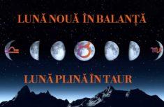 Lună Nouă în Balanță , Lună Plină în Taur – Efecte Majore asupra Acestor două Zodii