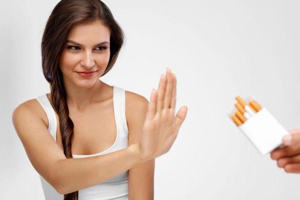 stop renuntare fumat plamani  585x390 - Cum să spui STOP fumatului? Luni este o zi bună sau ACUM?