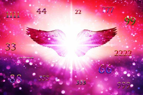 ingeri mesaje numerologie divin dumnezeu 585x390 - Îngerii ne trimit mesaje prin numerele pe care le vedem cel mai des! Sunt cele mai clare semne!