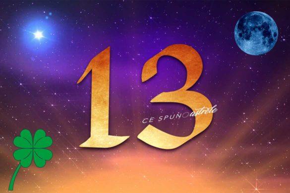 numarul 13 noroc ghinioin 585x390 - Ziua de 13 - este cu adevărat o zi a ghinioanelor ?