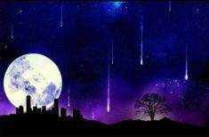Nu rata evenimentul astral deosebit din această noapte!-  Lună Plină și Ploaie de Stele la Solstițiul de Iarnă