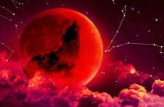 Eclipsa Totala de Luna din 21 Ianuarie 2019- Schimbări șocante, emoții profunde dar și noi oportunități