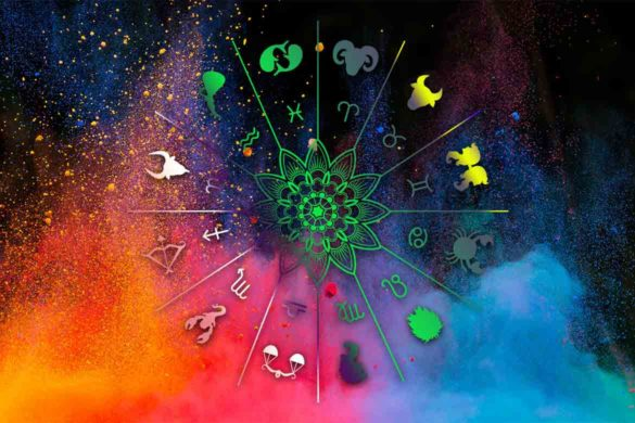 culori norocoase februarie zodii 585x390 - Februarie - Culorile Norocoase ale fiecărei zodii