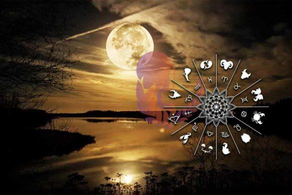 luna plina fecioara februarie astrologi 585x390 - Astrologii spun că SUPERLUNA de astăzi este un moment astral unic pentru fiecare Zodie