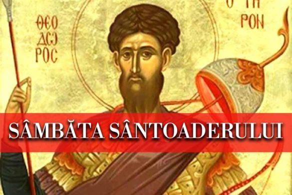sambata santoaderului 585x390 - Astăzi este Sâmbăta Sântoaderului  - Tradiții și Obiceiuri pe care este bine să le respectăm