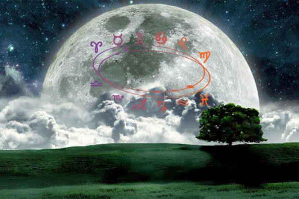 luna plina zodii influente aprilie 585x390 - Lună Plină Astăzi - 3 Zodii vor resimți intens  influențele acesteia