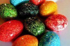 Obține cele mai frumoasă ouă de Paști printr-o metodă inedită!