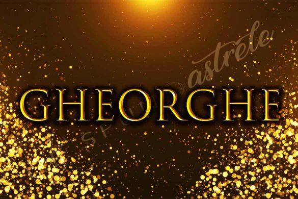 semnificatie nume gheorghe 585x390 - Semnificația numelui Gheorghe- Credință, curaj, ambiție și putere