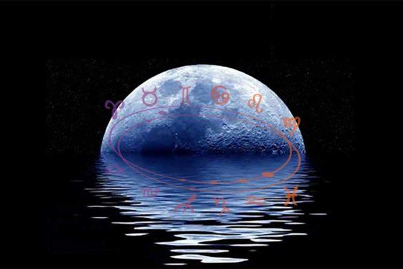 luna albastra binecuvantare mai 585x390 - Eveniment astral deosebit: Luna Albastră 18 Mai 2019 - O binecuvântare pentru noi toți!