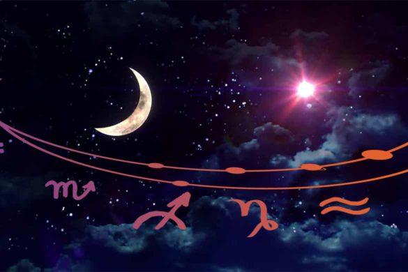 luna noua iunie 585x390 - Luna Nouă din Iunie dă startul unei veri cu adevărat frumoase pentru 4 dintre Zodii. Să vedem care sunt acestea!