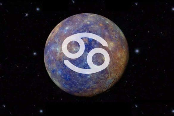 mercur rac 585x390 - Mercur în Rac - Un tranzit astral ce va conduce intuiția noastră la cote maxime