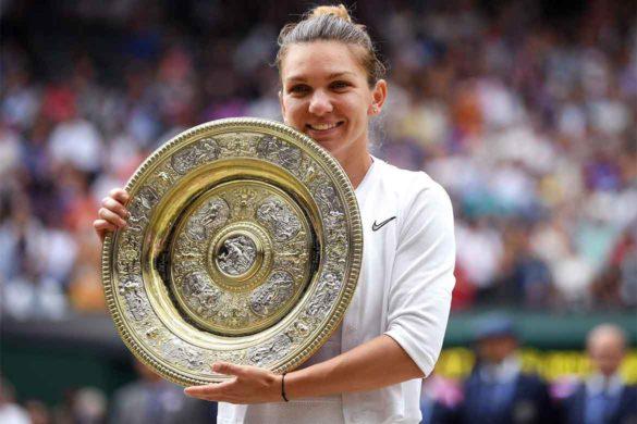 simona halep 585x390 - Bravo, Simona Halep! Intr-o zi de 13, Simona a câștigat titlul de campioană la Wimbledon în 2019
