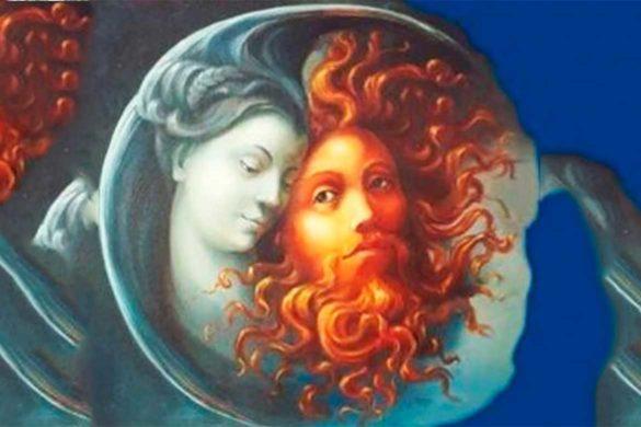 legenda luna soare 585x390 - Soarele a iubit Luna atât de mult încât a trecut în neființă în fiecare noapte, doar ca să o lase pe ea să strălucească