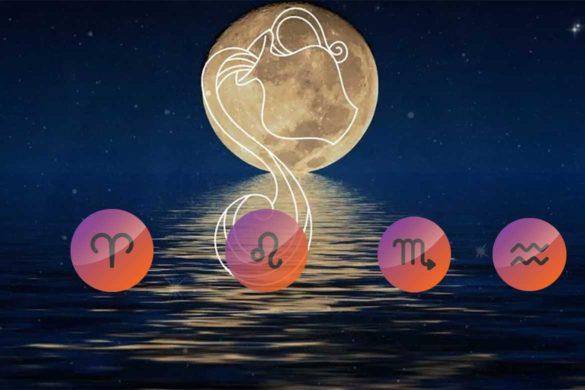 zodii afectate luna plna 585x390 - Lună Plină 15 August 2019 - Cele mai afectate 4 Zodii, pentru ele va avea loc o aliniere karmică