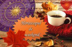 Horoscopul de Weekend 11-13 Octombrie 2019 – Pășim într-o perioadă favorabilă, eliberatoare, cu multe reușite