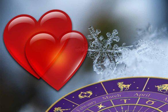 horoscop dragoste iarna 585x390 - Horoscop Dragoste pentru Această Iarnă - Ce Zodii au noroc în iubire până în Luna Martie