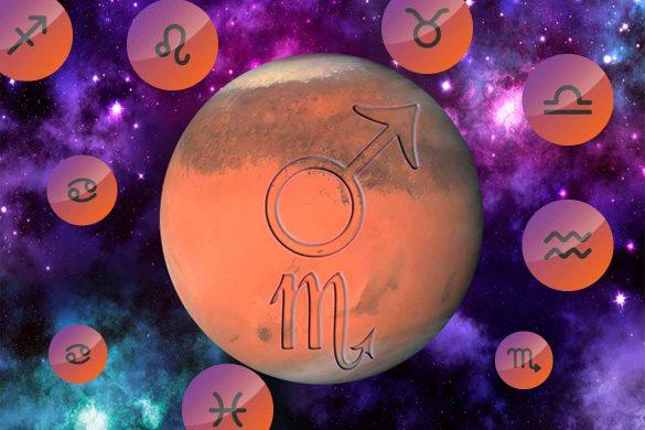marte scorpion decembrie 585x390 - HOROSCOP SPECIAL: Marte în Scorpion aduce energie și motivație Zodiilor pana in Ianuarie 2020