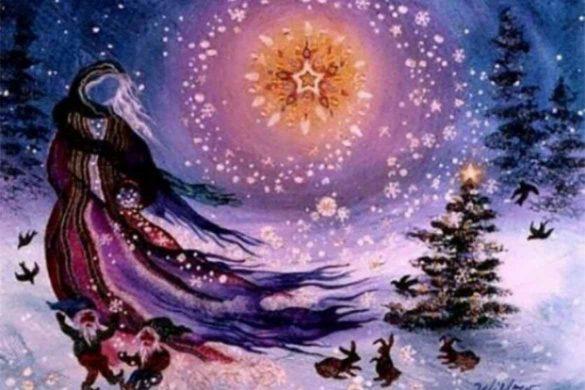 solstitiu iarna 2019 585x390 - Solstițiul de Iarnă 22 Decembrie 2019 - Ziua în care minunile se întâmplă!