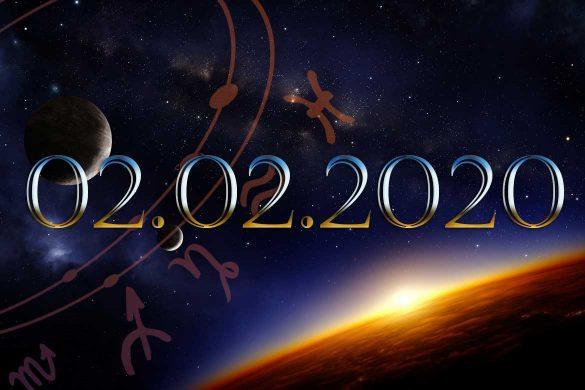 02.02.2020 585x390 - 02.02.2020 - O zi care se întâmplă odată la 1000 de ani! Iată cum vor fi influențate zodiile