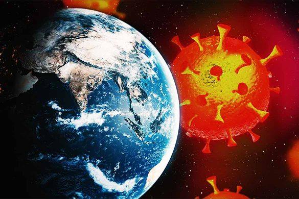 coronavirus astrologie 585x390 - ASTROLOGIE: Legătura dintre contextul astral din 2020 și Coronavirus