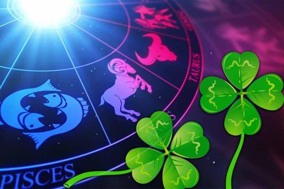 zodii norocoase 585x390 - Cele mai norocoase zodii ale săptămânii în curs - Universul oferă răspunsuri chemării lor!
