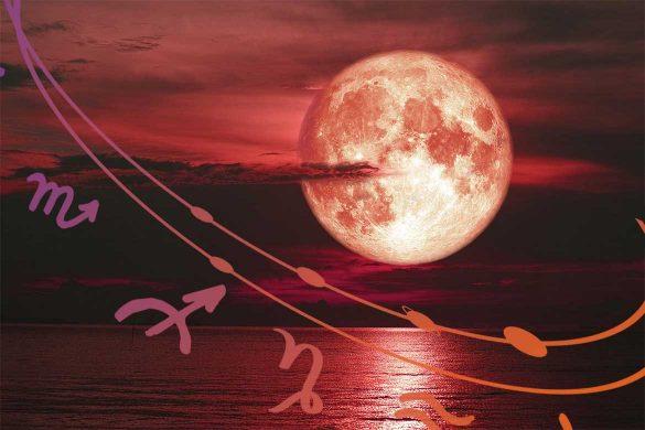 eclipsa luna 5 iulie 585x390 - ASTROLOGIE: Eclipsă de Lună Iulie 2020 - Cum dorințele ne pot deveni realitate?