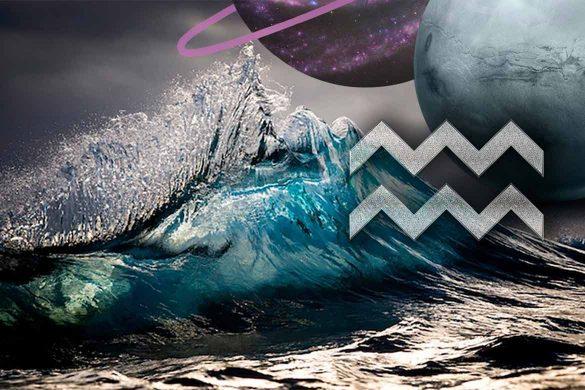 era varsatorului conjunctie 585x390 - SPECIAL: Era VĂRSĂTORULUI și Marea Conjuncție Saturn-Uranus de la finalul anului