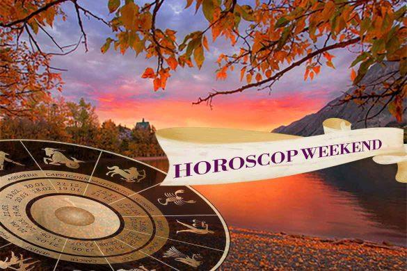 horoscop weekend 18 septembrie 585x390 - Horoscopul de Weekend 18-20 Septembrie 2020 - Să ne bucurăm de viață!