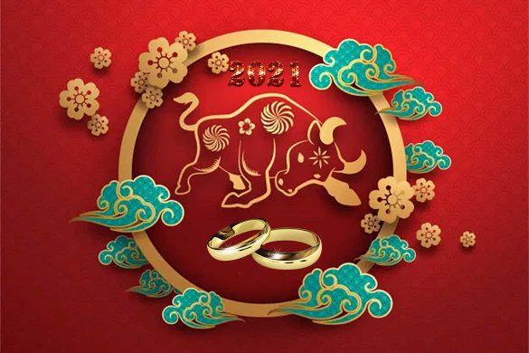 horoscop chinezesc 2021 an casatorii 585x390 - HOROSCOP CHINEZESC 2021: Anul Bivolului de Metal - Căsătoriile încheiate anul acesta vor fi cu siguranță fericite!