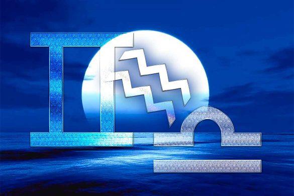 balanta gemeni varsator 585x390 - ASTROLOGIE: GEMENI, BALANȚĂ și VĂRSĂTOR - Zodiile protejate în următoarea perioadă!