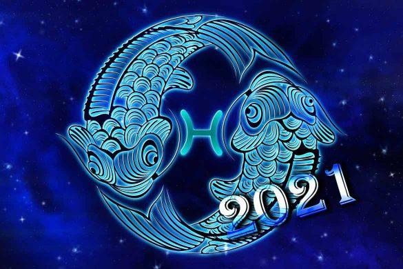 horoscop anual pesti 585x390 - Horoscop Anual 2021 Pești – Predicții pentru fiecare lună