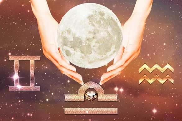 luna plina magica zodii aer 585x390 - ASTROLOGIE: Luna Plină din 27 Februarie aduce magie pentru Zodiile de Aer