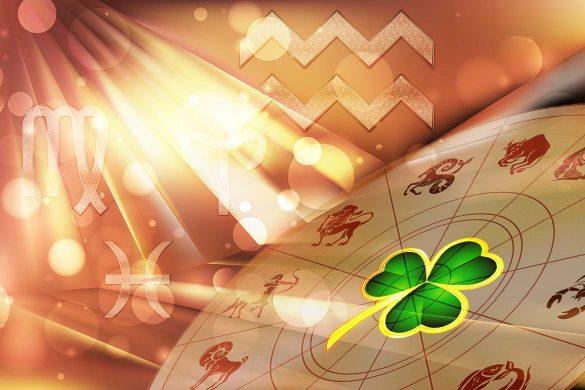 zodii norocoase urmatoarele saptamani 585x390 - ASTROLOGIE: Prosperitate și Noroc în următoarele săptămâni pentru BERBEC, FECIOARĂ, VĂRSĂTOR și PEȘTI