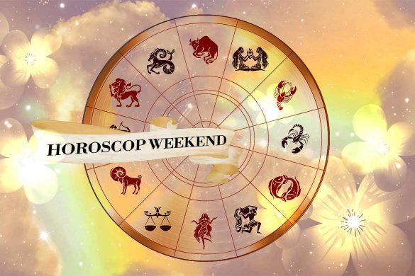 horoscop weekend 16 18 aprilie 2021 585x390 - Horoscopul de Weekend 16-18 Aprilie 2021 - Energie pozitivă și motivație!