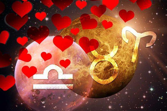 noroc dragoste venus 585x390 - ASTROLOGIE: Venus în Taur - Noroc în dragoste pentru BERBEC, TAUR și BALANȚĂ!