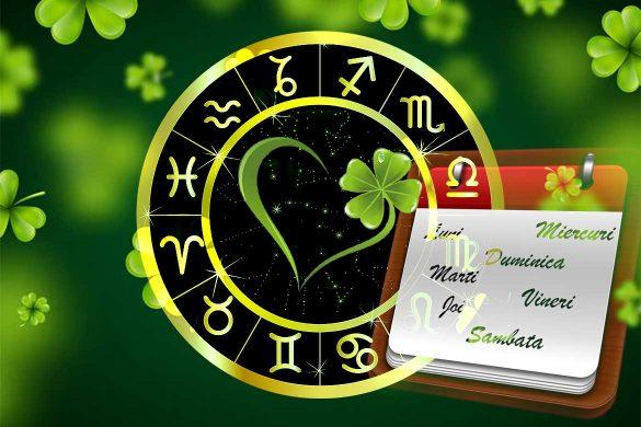 zile norocoase saptamana 585x390 - ASTRO SPECIAL: Care este ziua ta norocoasă din săptămână, în funcție de Zodie