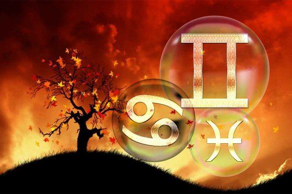 astrologie spetembrie gemeni rac pesti 585x390 - ASTROLOGIE SEPTEMBRIE: O lună cu provocări de bun augur pentru Zodiile GEMENI, RAC și PEȘTI!