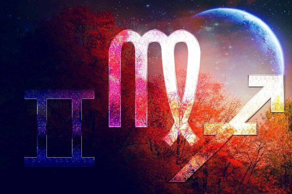 luna noua trei zodii septembrie 2021 585x390 - ASTROLOGIE: Gemeni, Fecioară și Săgetător - Zodiile care au acum parte de schimbări și reușite!