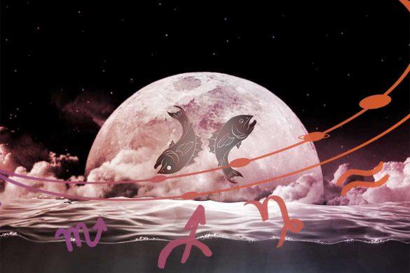 luna plina pesti septembrie 2021 585x390 - ASTROLOGIE: Lună Plină în Pești - Viața ia un start miraculos pentru toate zodiile!